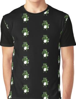 Oxcy The Cowardly Panda Graphic T-Shirt