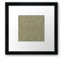 Geometric Fur Framed Print