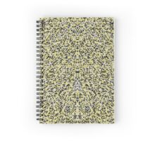 Geometric Fur Spiral Notebook