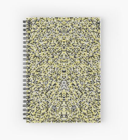 Geometric Fur Spiral Notebook