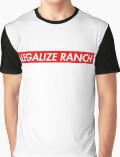 Legalize Ranch - Red - Eric Andre - Supreme font Graphic T-Shirt