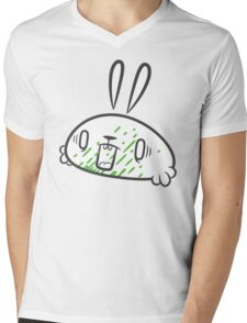 Argh! It got in my mouth! Mens V-Neck T-Shirt