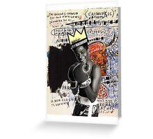 basquiat 1 Greeting Card