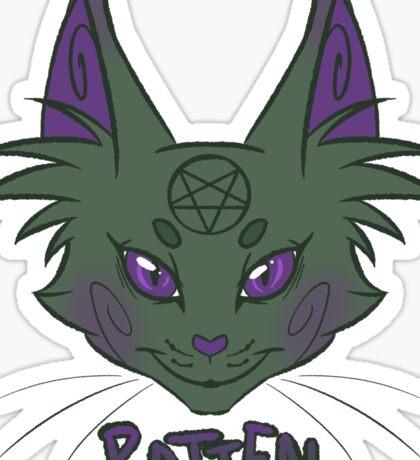 Rot Cat Sticker