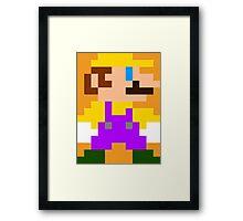 Mario (Wario) Framed Print