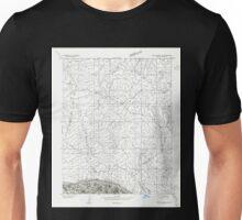 USGS TOPO Map Arizona AZ Paria Plateau SW 312778 1954 24000 Unisex T-Shirt