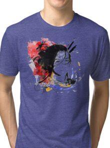 Asian Girl Tri-blend T-Shirt
