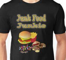 Junk Food Junkie Unisex T-Shirt