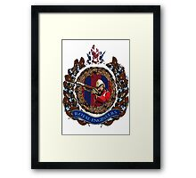 Zulu memorial RE Framed Print