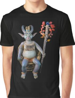 The Goblin King, sculpture Graphic T-Shirt