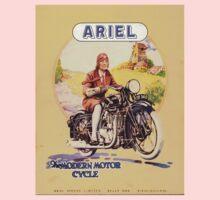 vintage motorcycle Kids Tee