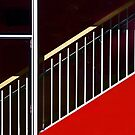 Stairway in Red by cclaude