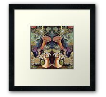 Anemones print Framed Print