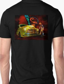 MoPar Cowboy Checks Out of Motel Shell T-Shirt