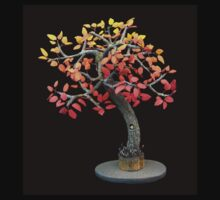 Autumn Tree, art sculpture Kids Tee