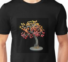 Autumn Tree, art sculpture Unisex T-Shirt