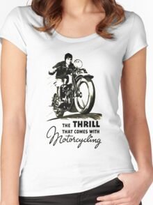thrill Women's Fitted Scoop T-Shirt