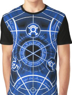Human Transmutation Circle Graphic T-Shirt
