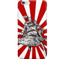 whale-ship iPhone Case/Skin