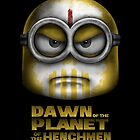 Dawn of the Planet of the Henchmen by andresMvalle