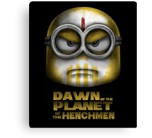 Dawn of the Planet of the Henchmen Canvas Print
