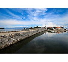 Bridge to Nin, Croatia Photographic Print