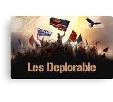 DEPLORABLE Canvas Print