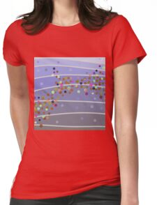 Bubbles Womens Fitted T-Shirt