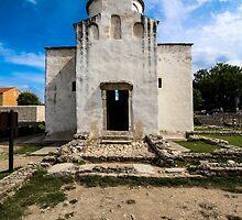 Church of the Holy Cross, Nin (9th century) by Zsolt-Tibor Szabó