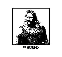 The Hound Inspired Artwork 'Game of Thrones' Photographic Print
