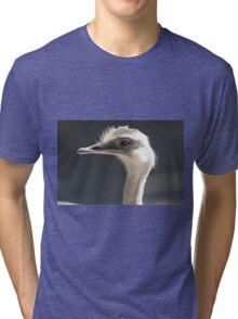 ostrich in the farm Tri-blend T-Shirt