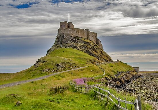 The Castle  Holy Island by Trevor Kersley