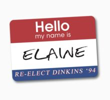 Re-Elect Dinkins - Elaine by twosevendesigns