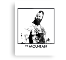 The Mountain Inspired Artwork 'Game of Thrones' Metal Print