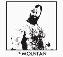 The Mountain Inspired Artwork 'Game of Thrones' by ComedyQuotes