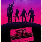 Guardians of the Galaxy by XZiL