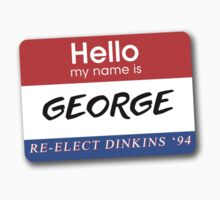 Re-Elect Dinkins - George by twosevendesigns