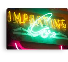 Importing Co Canvas Print