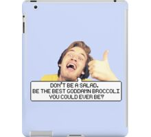 "Pewdiepie: ""Don't be a salad."" iPad Case/Skin"