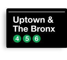 Uptown & The Bronx Canvas Print