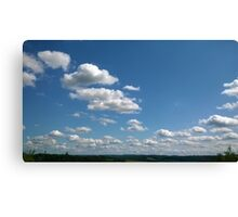 Sunny clouds Canvas Print