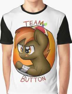Team Button Mash! Graphic T-Shirt