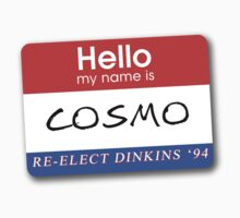 Re-Elect Dinkins - Cosmo by twosevendesigns