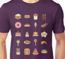 Yummy Food Unisex T-Shirt