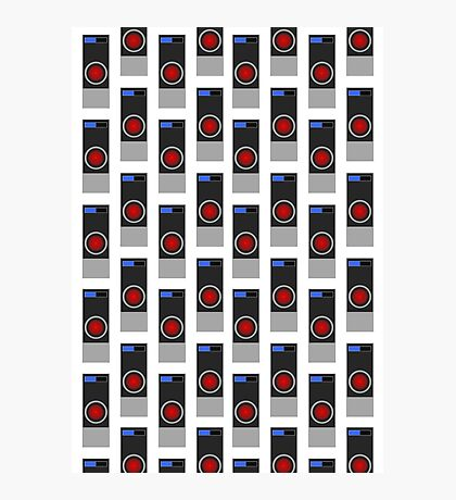HAL-9000 Repeating Pattern Photographic Print
