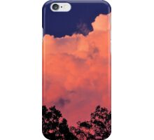 Way Up High On The Pink Clouds In The Sky iPhone Case/Skin