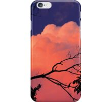Way Up High On The Pink Clouds In The Sky 1 iPhone Case/Skin