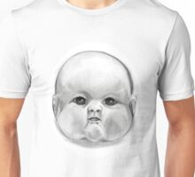 decapitated baby doll head Unisex T-Shirt