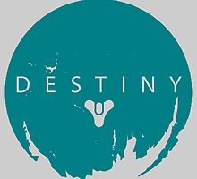 Destiny - Green Water Logo by AronGilli by AronGilli