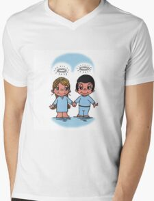 Love is each others angels  Mens V-Neck T-Shirt